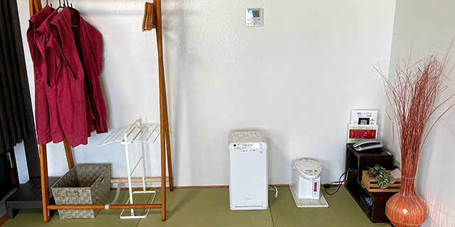 コロナ対策_空気清浄機の設置